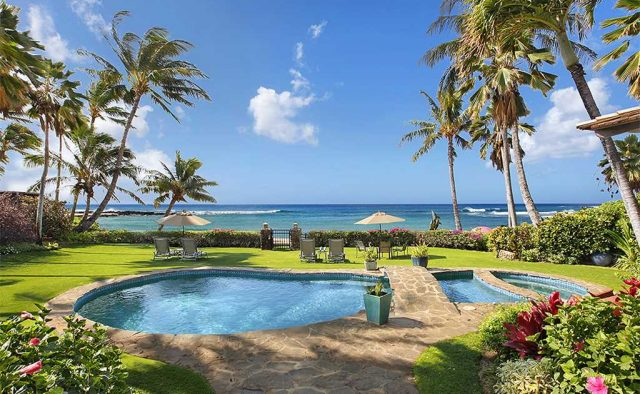 Costal Escape - Backyard Pool - Kauai, Hawaii Vacation Home