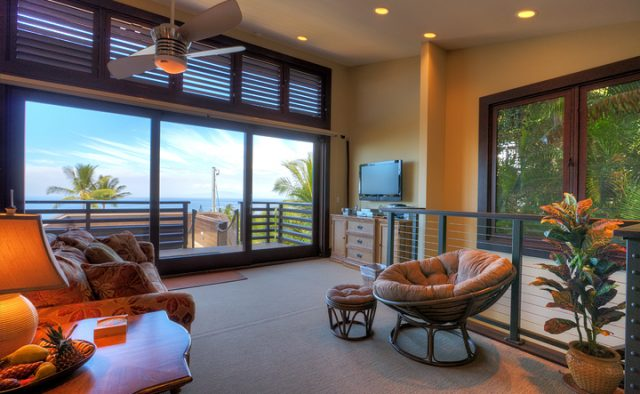 Wailea Sunset - Living Room - Luxury Vacation Homes